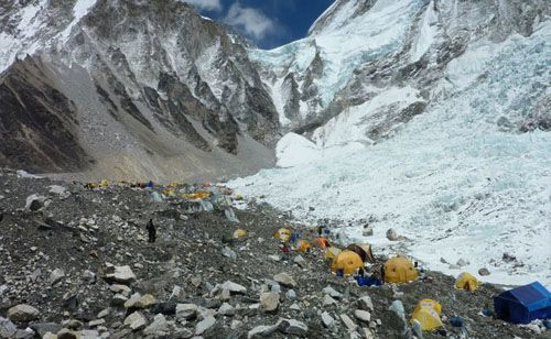 Camp de Base de l'Everest (5346m)